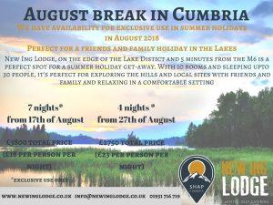 August break in Cumbria